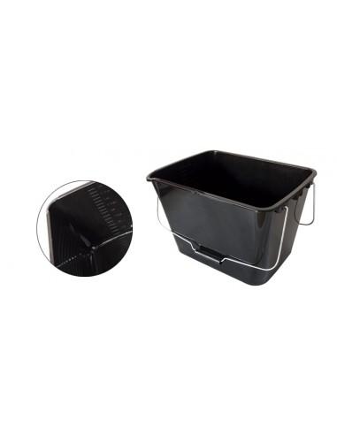 Cubeta Plástico 16L + Rejilla Plástico